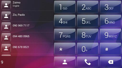 【免費個人化App】Dialer theme Polygon Glass-APP點子