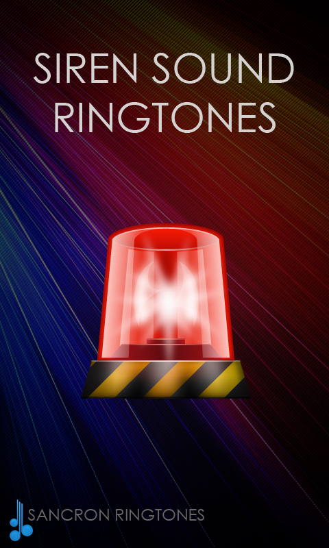 Siren Sounds and Ringtones- screenshot