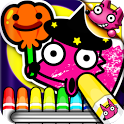Boo! Monster Coloring Book icon