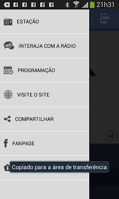 Nativa FM - screenshot