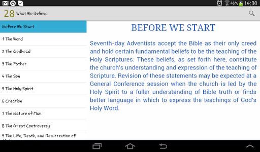 What Adventists Believe