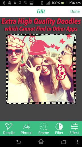 超可愛照片相機 - 攝影 自拍 貼紙 特效 美化 ステッカー