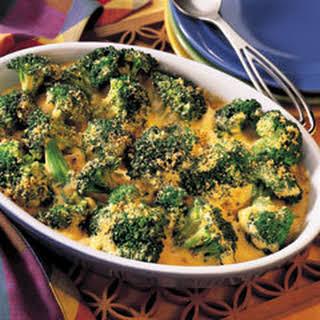 1-2-3 Cheddar Broccoli Casserole.