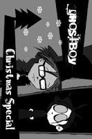 Screenshot of ghostboy Christmas special