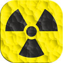 Radiation counter icon