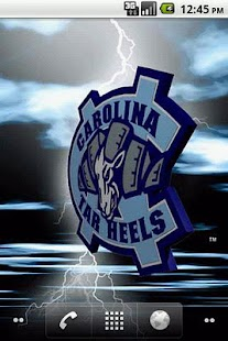 North Carolina Tar Heels LWP - screenshot thumbnail