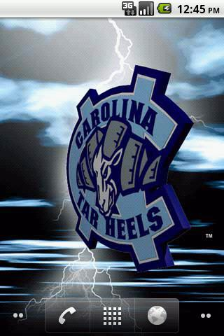 North Carolina Tar Heels LWP - screenshot