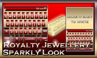Screenshot of SlideIT Royalty Jewellery Skin