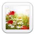 Flowers Live Wallpaper HD Free icon