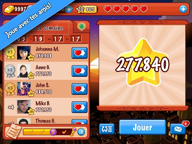android Diamond Dash Screenshot 3