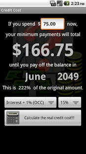 Credit Cost - screenshot thumbnail