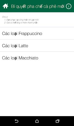 Bí quyết pha chế cà phê mới+