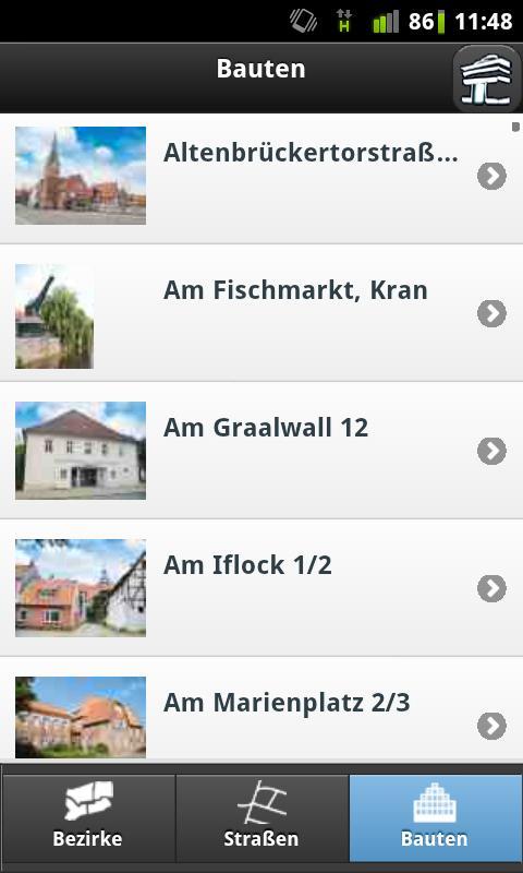AppNachLüneburg- screenshot