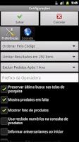 Screenshot of Gestor Vendas