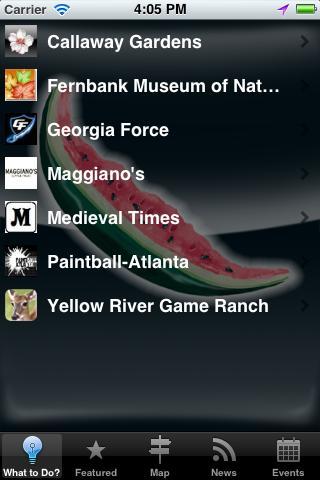 Southern Reader- screenshot