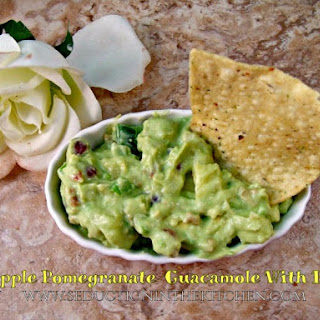 Pineapple Pomegranate Guacamole With Bacon