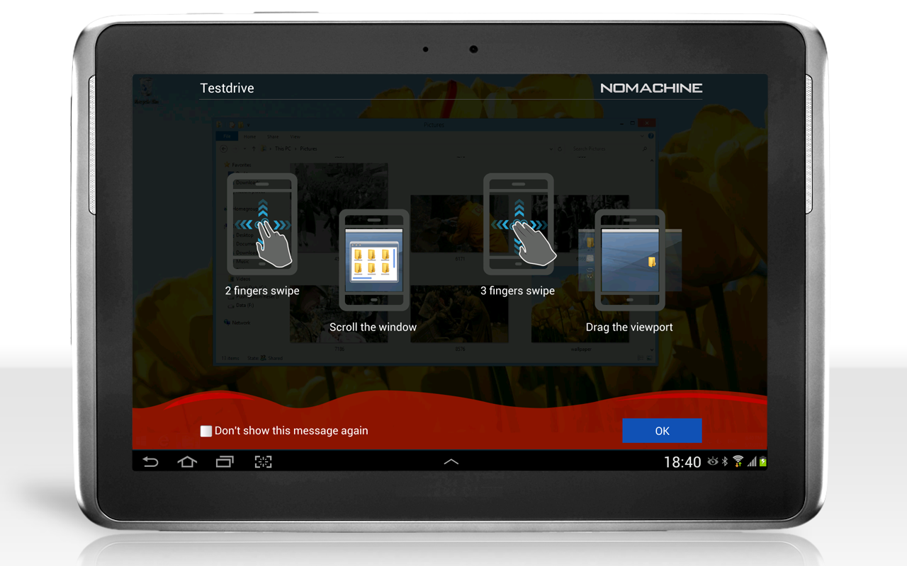 NoMachine- screenshot