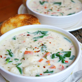 Creamy Vegetable Gnocchi Soup