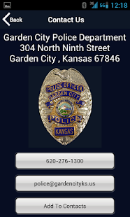 Garden City Police Department- screenshot thumbnail