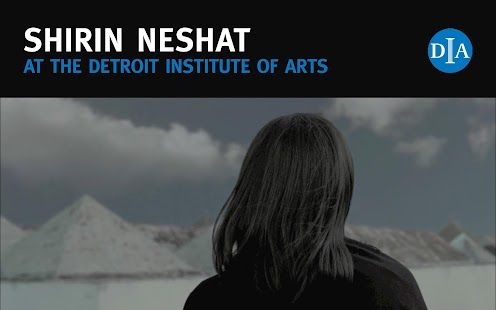 Shirin Neshat at the DIA - screenshot thumbnail