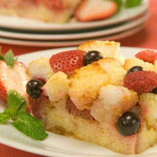 Berry Delite Bread Pudding.