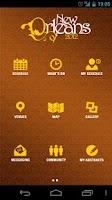 Screenshot of 2012 AAN Annual Meeting App