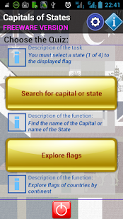 Capitals of States- screenshot thumbnail