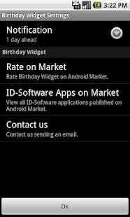 Birthday Widget - screenshot thumbnail