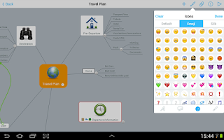 Screenshot of MindMeister (mind mapping)