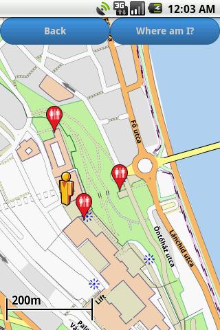 Budapest Amenities Map free