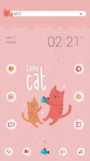 Tame cat dodol launcher theme