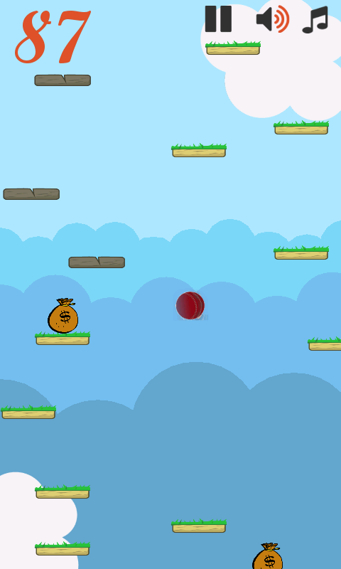 jumpball- screenshot
