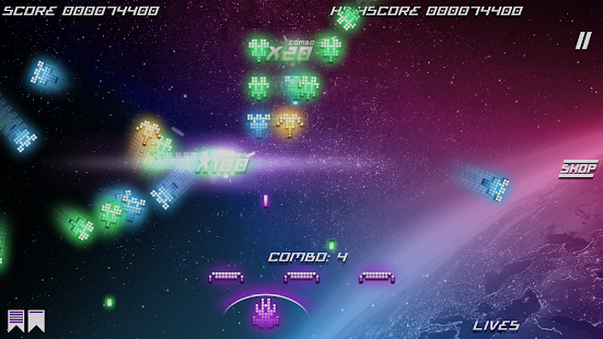 Kosmik Revenge - Retro Arcade Shoot 'Em Up- screenshot thumbnail