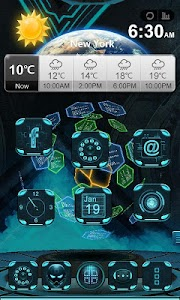 Next Technology Theme 3D LWP v1.09