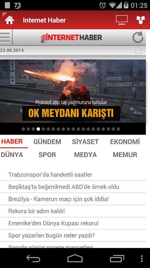 Tüm Gazeteler - screenshot