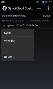 Contacts CardDAV Sync- screenshot thumbnail
