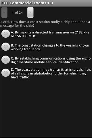 FCC Commercial Exam 1.0- screenshot