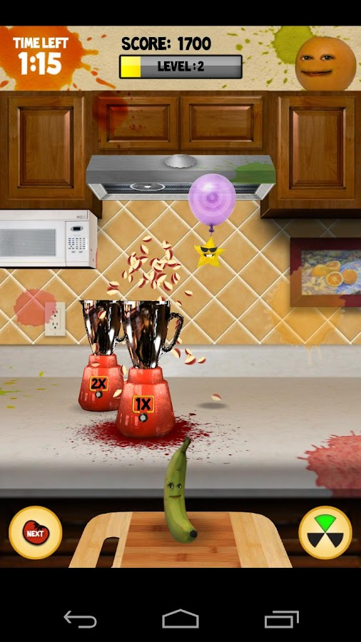 Annoying Orange: Carnage Free - screenshot