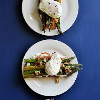 Roasted Asparagus Sandwiches