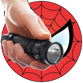 Spiderman Flashlight