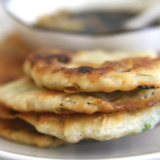 Flaky Chinese Scallion Pancakes