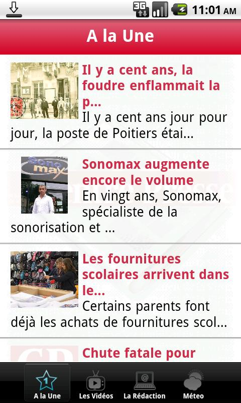 Centre Presse - screenshot