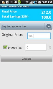 Smart Discount Calculator screenshot 4