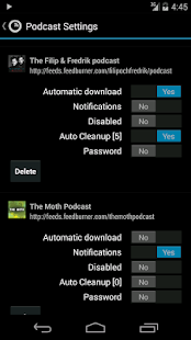 Podkicker Podcast Player- screenshot thumbnail