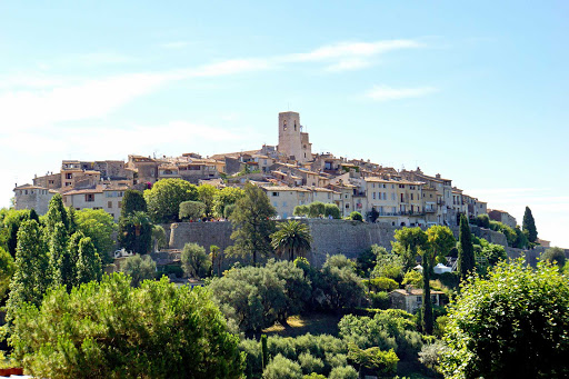 Saint-Paul-de-Vence-France - Saint-Paul-de-Vence is one of the oldest medieval towns on the French Riviera.