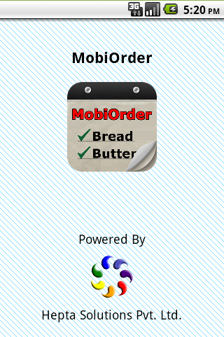 MobiOrder - Buy Sell System