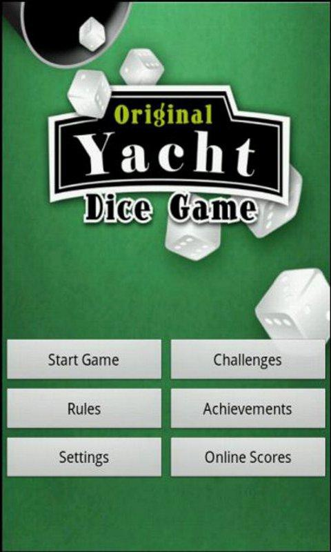 Original Five Dice Game - screenshot