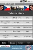 Screenshot of Talk Czech (Free)