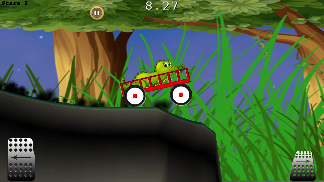 Alligator Wagon Racing- screenshot