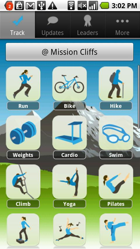 Skimble GPS Sports Tracker- screenshot
